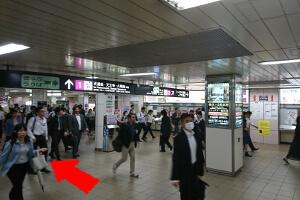 ④谷町線東梅田駅